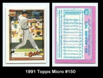 1991 Topps Micro #150