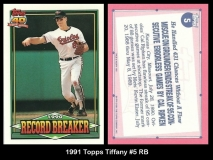 1991 Topps Tiffany #5 RB