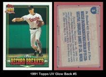 1991 Topps UV Glow Back #5