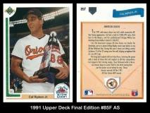 1991 Upper Deck Final Edition #85F AS