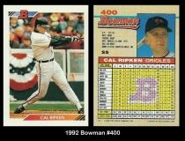 1992 Bowman #400