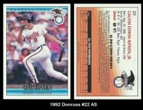 1992 Donruss #22 AS