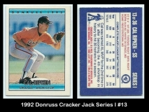 1992 Donruss Cracker Jack Series I #13