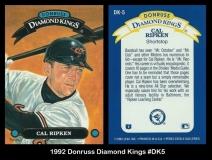 1992 Donruss Diamond Kings #DK5