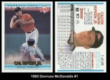1992 Donruss McDonalds #1