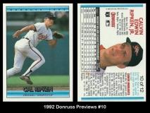 1992 Donruss Previews #10