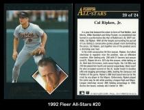 1992 Fleer All-Stars #20