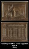 1992-Highland-Mint-Cards-Topps-31-Bronze