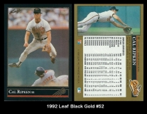 1992 Leaf Black Gold #52
