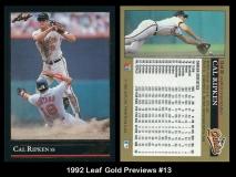 1992 Leaf Gold Previews #13