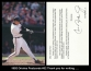 1992 Orioles Postcards #32 Thank you for writing