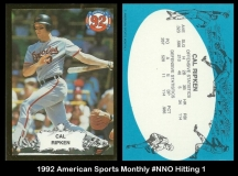 1992 American Sports Monthly #NNO Hitting 1