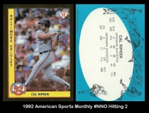 1992 American Sports Monthly #NNO Hitting 2