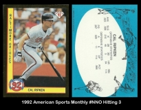 1992 American Sports Monthly #NNO Hitting 3