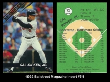 1992 Ballstreet Magazine Insert #54