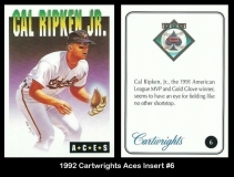 1992 Cartwrights Aces Insert #6