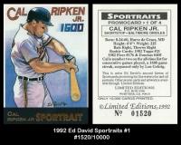 1992 Ed David Sportraits #1