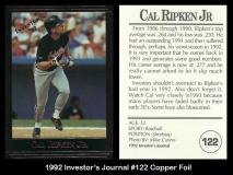 1992 Investors Journal #122 Copper Foil
