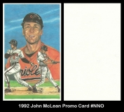1992 John McLean Promo Card #NNO