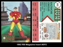1992 RBI Magazine Insert #SP2