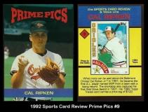 1992 Sports Card Review Prime Pics #9