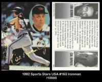 1992 Sports Stars USA #163