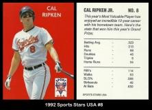 1992 Sports Stars USA #8