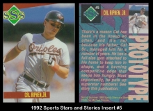1992 Sports Stars and Stories Insert #5