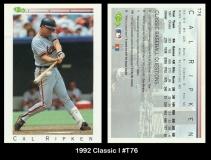 1992 Classic I #T76
