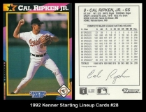 1992 Kenner Starting Lineup Cards #28