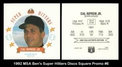 1992 MSA Ben's Super Hitters Discs Square Promo #6
