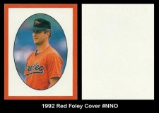 1992 Red Foley Cover #NNO