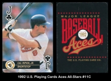 1992 US Playing Cards Aces All-Stars #11C