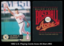 1992 US Playing Cards Aces All-Stars #9D