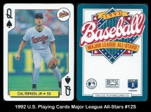 1992 US Playing Cards Major League All-Stars #12S