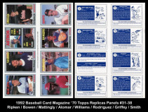 1992-Baseball-Card-Magazine-70-Topps-Replicas-Panels-31-38