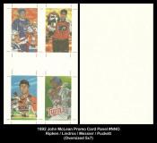 1992-John-McClean-Promo-Card-Panels-NNO