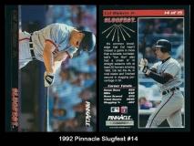 1992 Pinnacle Slugfest #14
