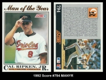 1992 Score #794 MANYR