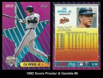 1992 Score Proctor & Gamble #5
