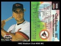 1992 Stadium Club #595 MC