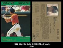 1992 Star Co Gold '92 #68 The Streak