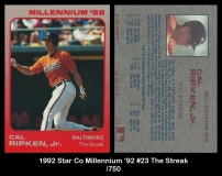 1992 Star Co Millennium '92 #23 The Streak