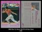 1992 Star Co Nova '92 #75 All-Star Stats