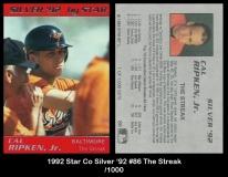 1992 Star Co Silver '92 #86 The Streak