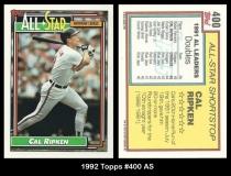 1992 Topps #400 AS