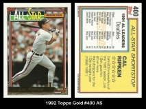1992 Topps Gold #400 AS