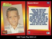1992 Triple Play #253 LH