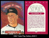 1992 Triple Play Gallery #GS11