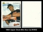 1992 Upper Deck Mini Box Cut #NNO